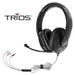 Trios™ Multimedia Headset with Gooseneck Mic