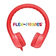 Flex-Phones™ Foam Headphones - Red
