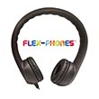 Flex-Phones™ Foam Headphones - Black