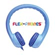 Flex-Phones™ Foam Headphones - Blue