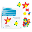 Pattern Block Activity Cards - Advanced