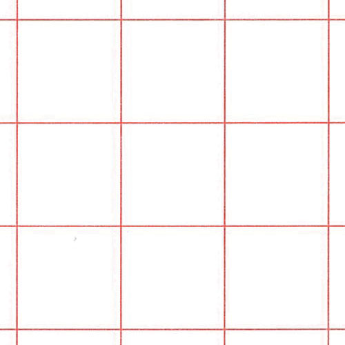 graph paper red 1 2 grid pack of 500 math manipulatives