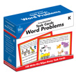 CenterSOLUTIONS® Task Cards: Word Problems: Grade K