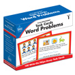 CenterSOLUTIONS® Task Cards: Word Problems: Grade 1