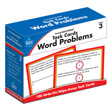 CenterSOLUTIONS® Task Cards: Word Problems: Grade 3