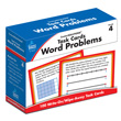 CenterSOLUTIONS® Task Cards: Word Problems: Grade 4