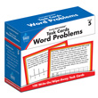 CenterSOLUTIONS® Task Cards: Word Problems: Grade 5