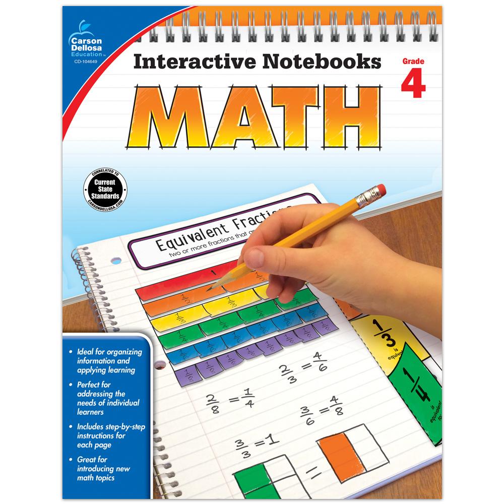 Interactive Notebooks: Math: Grade 4 - Math Manipulatives ...