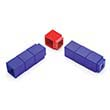 Unifix Corner Cubes - Set of 40