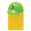 Unifix Number Hats - Set of 30