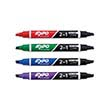 Expo® Dual Ended Dry-Erase Markers: Assorted Colors w/ Black - Set of 4