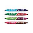 Expo® Dual Ended Dry-Erase Markers: Assorted Colors - Set of 4
