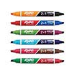 Expo® Dual Ended Dry-Erase Markers: Assorted Colors - Set of 6