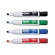Expo® Magnetic Chisel-Tip Dry-Erase Markers w/ Erasers: Assorted Colors - Set of 4
