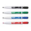 Expo® Magnetic Fine-Tip Dry-Erase Markers w/ Erasers: Assorted Colors - Set of 4