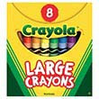 Crayola Large Crayons - Set of 8