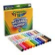Crayola Ultra-Clean Washable Broad Line Assorted Markers - Set of 12