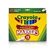 Crayola® Broad Line Assorted Markers - Set of 12