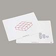 Write-On/Wipe-Off Isometric Drawing Mats - Set of 10