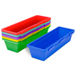 Pencil Trays - Assorted Colors - Set of 5