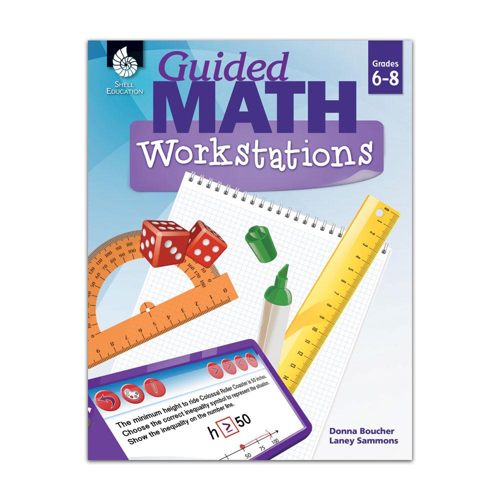 Guided Math Workstations: Grades 6-8 - Math Manipulatives