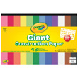 Crayola Giant Construction Paper with Giant Stencil