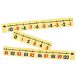 Magnetic Demonstration Number Line, -10 to 120