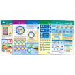 Time & Money Bulletin Board Chart Set - Set of 5
