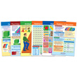 Numbers Bulletin Board Chart Set - Set of 6