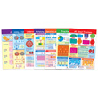 Fractions Bulletin Board Chart Set - Set of 7