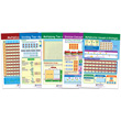Multiplication & Division Bulletin Board Chart Set - Set of 5