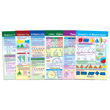Geometry Bulletin Board Chart Set - Set of 6