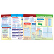 Graphs & Functions Bulletin Board Chart Set - Set of 4
