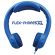 Flex-PhonesXL™ Foam Headphones for Teens - Blue