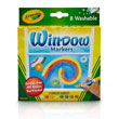 Crayola Washable Window Markers - Set of 8