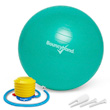Balance Ball No-Roll Weighted Seat - Green, 45cm