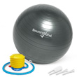 Balance Ball No-Roll Weighted Seat - Gray, 45cm