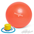 Balance Ball No-Roll Weighted Seat - Orange, 45cm