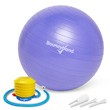 Balance Ball No-Roll Weighted Seat - Purple, 45cm