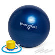 Balance Ball No-Roll Weighted Seat - Blue, 55cm