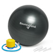 Balance Ball No-Roll Weighted Seat - Gray, 55cm