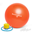 Balance Ball No-Roll Weighted Seat - Orange, 55cm