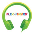 Flex-Phones™ Foam Headphones - Green