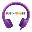Flex-Phones™ Foam Headphones - Purple