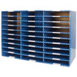 Corrugated Mailroom Sorter with Dry Erase Laminate - 30 Compartments