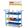 Hand Sanitizer Cart - Premium