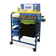 All-in-One Hand Sanitizer Cart - Premium Model