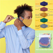 Crayola™ Teen/Adult Reusable Cloth Face Mask Set, Super Stripes!