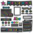 Chalkboard Brights Classroom Décor Set