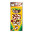 Crayola Colors of the World Colored Pencils - 24 Count